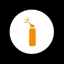 aérosol pour le nettoyage du nez du bébé